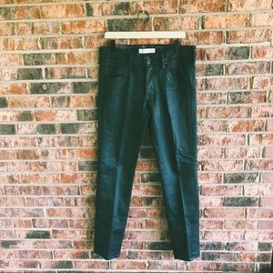 { OLD NAVY } NWOT Black Slick High Rise Moto Jeans